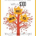 Celebrate Fall with a $300 Giveaway