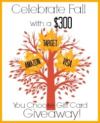 Celebrate Fall $300 Giveaway Button
