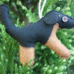Adorable Felt Animal Ornaments