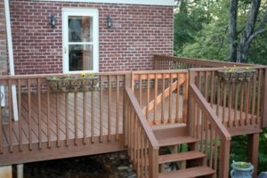 Staining Our Deck–Part Two