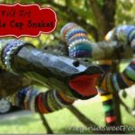 Folk Art Bottle Cap Snakes (Cute, Not Scary!)