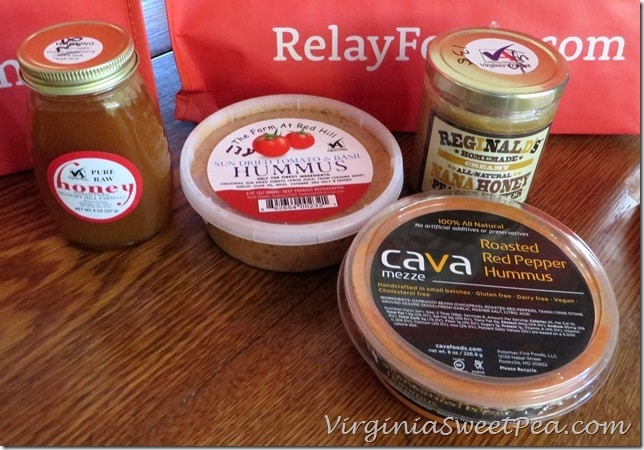 Honey and Hummus from Relay Foods