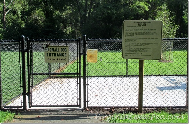 Lynchburg Dog Park - Small Dog Entrance