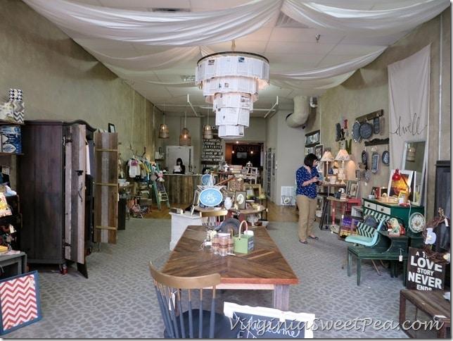 Pastiche and Main Store