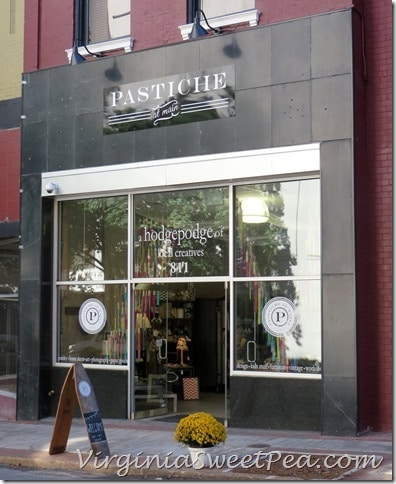 Pastiche at Main Storefront
