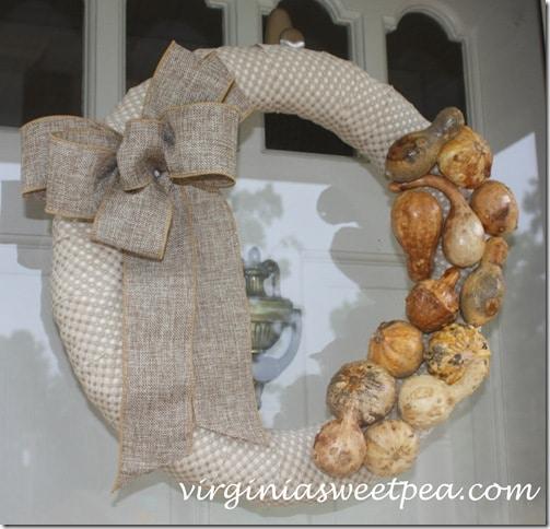 Preserved Gourd Wreath2