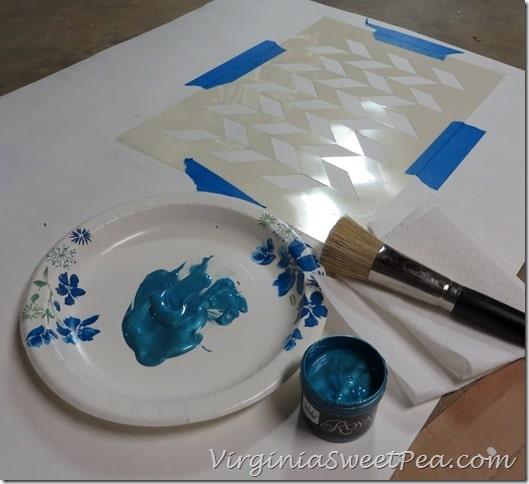 Royal Design Stencil Test