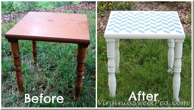 Royal Design Studio Table Makeover