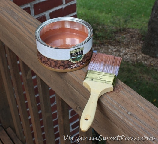 Staining Our Deck Ndash Part Two Sweet Pea