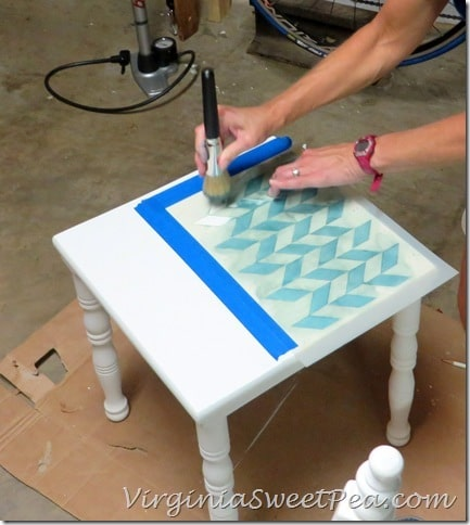Stenciling the Table2