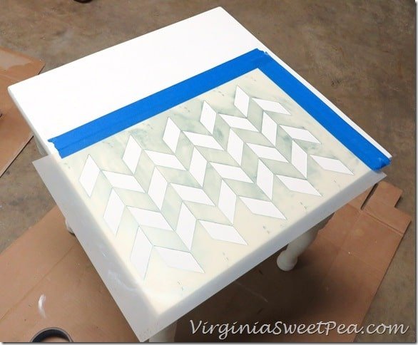Stenciling the Table