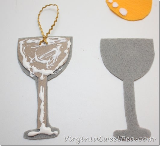 Wine Ornament How to