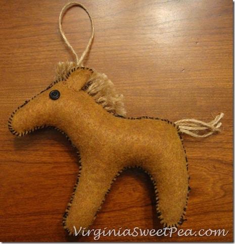 Felt Animal Horse