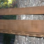 The Easy Way to Stain a Pallet Wine Rack