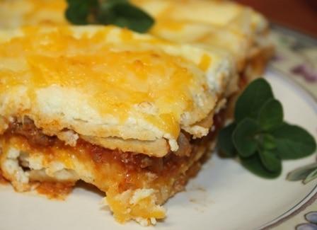 Mexican Lasagna - Sweet Pea