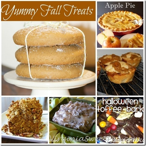 Yummy Fall Treats from virginiasweetpea.com