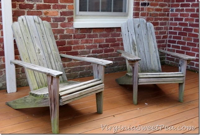 Adirondack Chairs - Before