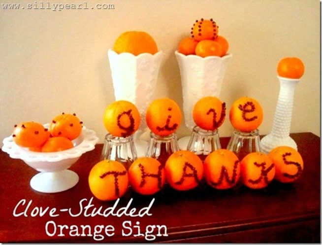 Clove-Studded Orange Sign by The Silly Pearl