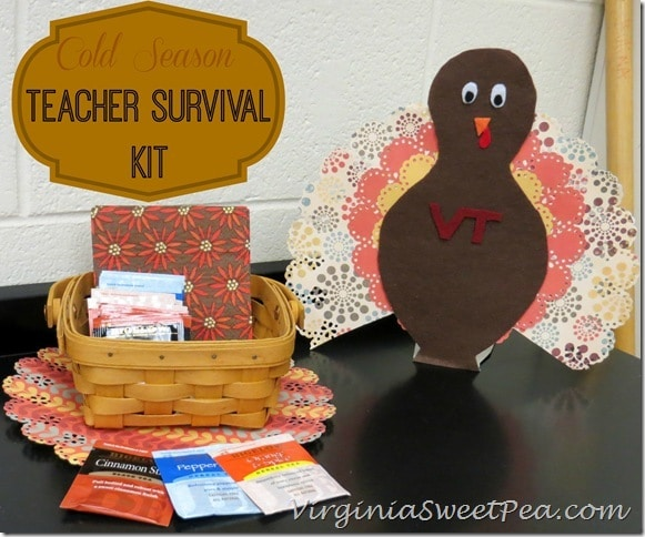 Cold Season Teacher Survival Kit with BigelowTea and Halls #americastea