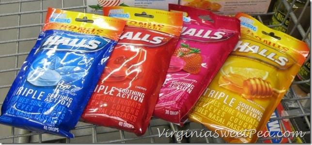Halls Flavors