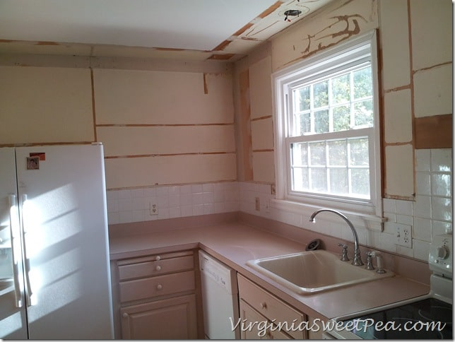 Upper Cabinets Removed 2