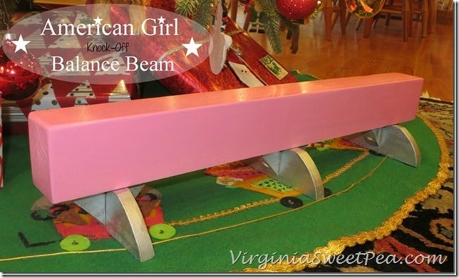 American-Girl-Knock-Off-Balance-Beam by virginiasweetpea.com