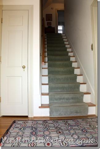 Carpet on Our Steps