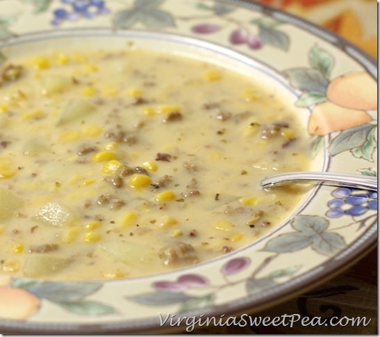 Corn Chowder with Sausage2