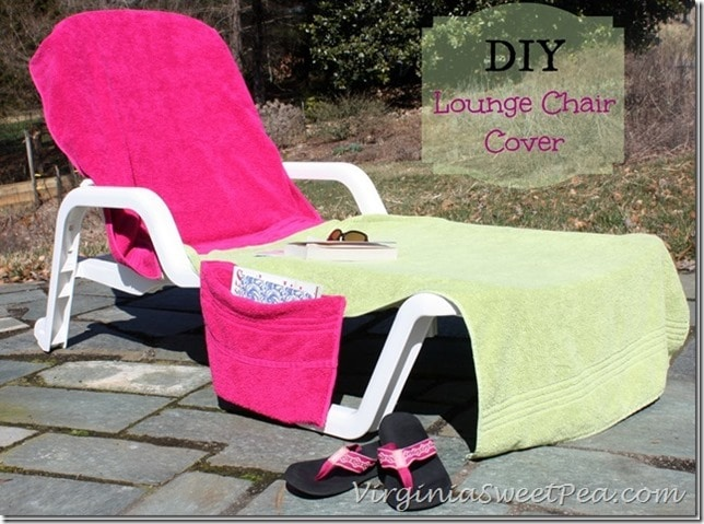DIY-Lounge-Chair-Cover by virginiasweetpea.com