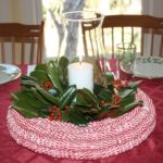 Peppermint Candy Twist Centerpiece