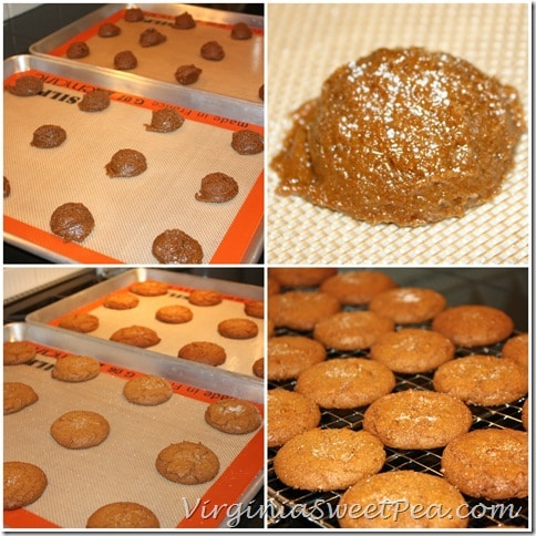 Baking Iced Ginger Cookies