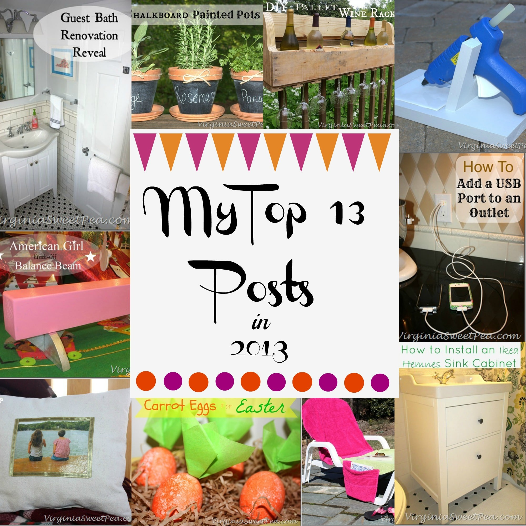 My Top 13 Posts in 2013 by virginiasweetpea.com