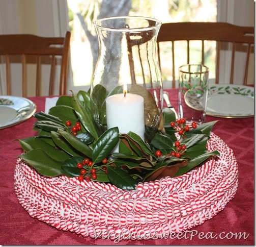 Peppermint Candy Centerpiece or Wreath