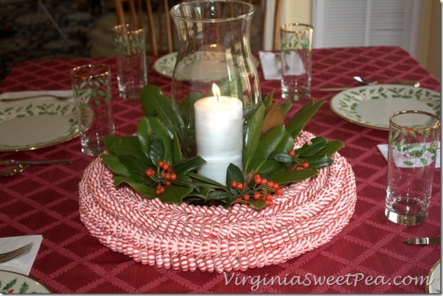 Peppermint Candy Centerpiece