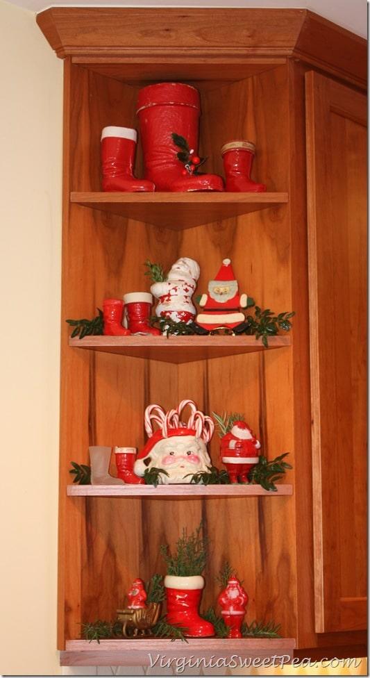 Vintage Santa Boots