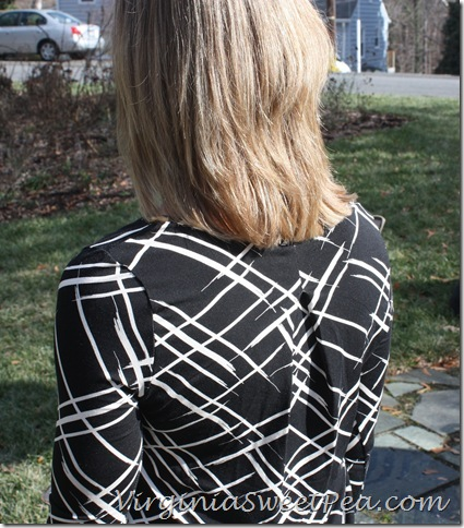 Stitch Fix Back Shirt Detail