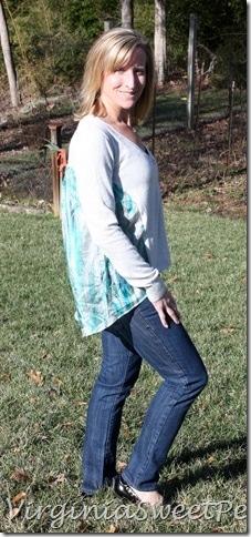 Stitch Fix Madrone Silk Back Cardigan