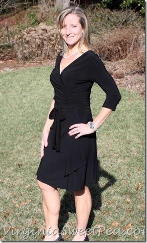 Stitch Fix Rocco Sleeve Faux Wrap Dress