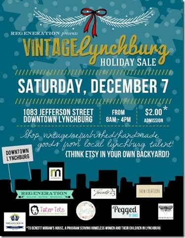 Vintage Lynchburg Holiday Sale