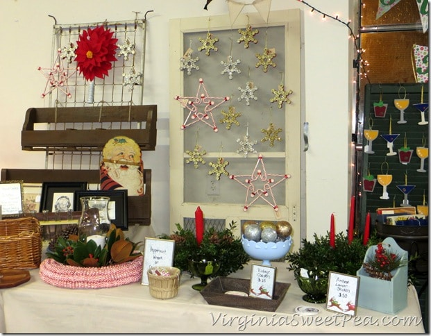 Vintage Lynchburg Holiday Show - Sweet Pea Booth