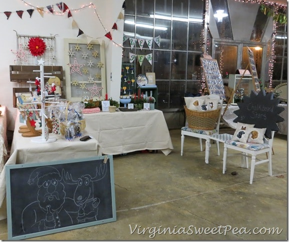 Vintage Lynchburg Holiday Show Sweet Pea's Booth