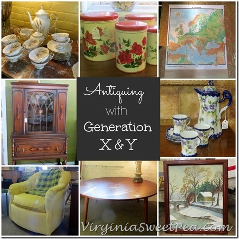 Antiquing with Generation X and Y