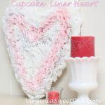Cupcake Liner Heart