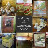 Generation X and Y go Antiquing