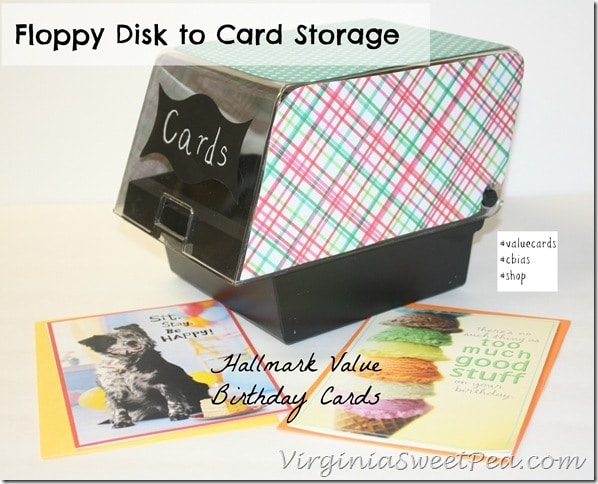 Floppy Disk to Card Storage with Hallmark Value Birthday Cards #shop #cbias #valuecards