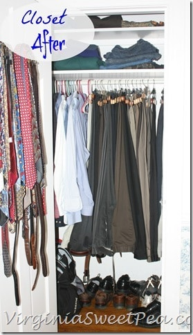 Man Closet After