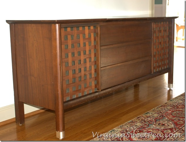 Mid Century Modern Stereo Console from Montgomery Ward