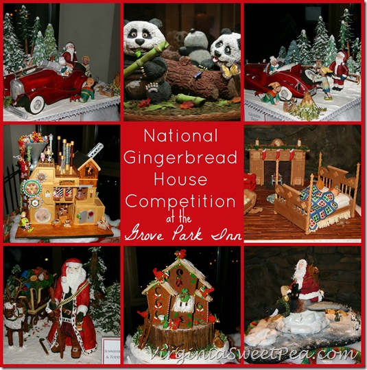National Gingerbread House Competition at the Grove Park Inn