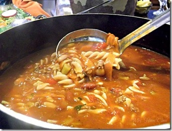 Pasta e Fagioli Soup by Mrs. Hines Class