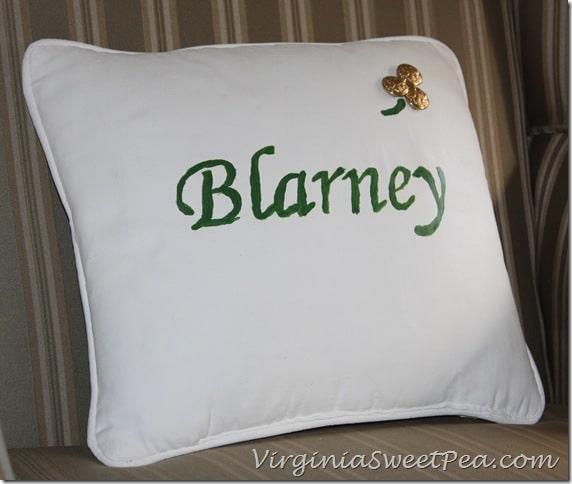 Blarney Pillow